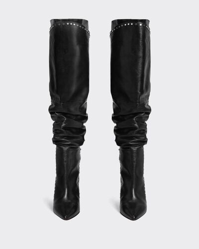 IRO - MARSABA BOOTS USED BLACK