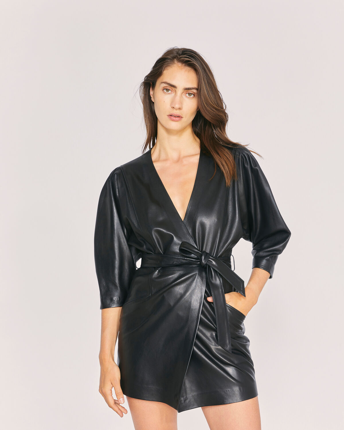 IRO - ROBE LANIKA BLACK
