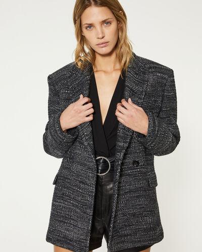 Iro Shakila Jacket In Black/silver
