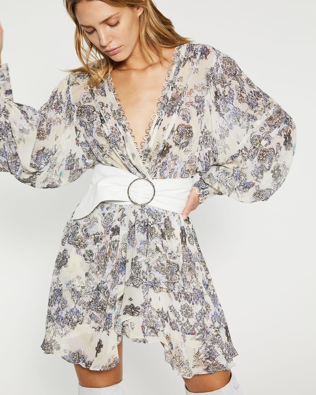 IRO - PATCHAK DRESS YELLOW