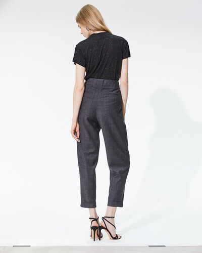 IRO - NUX TROUSERS ANTHRACITE