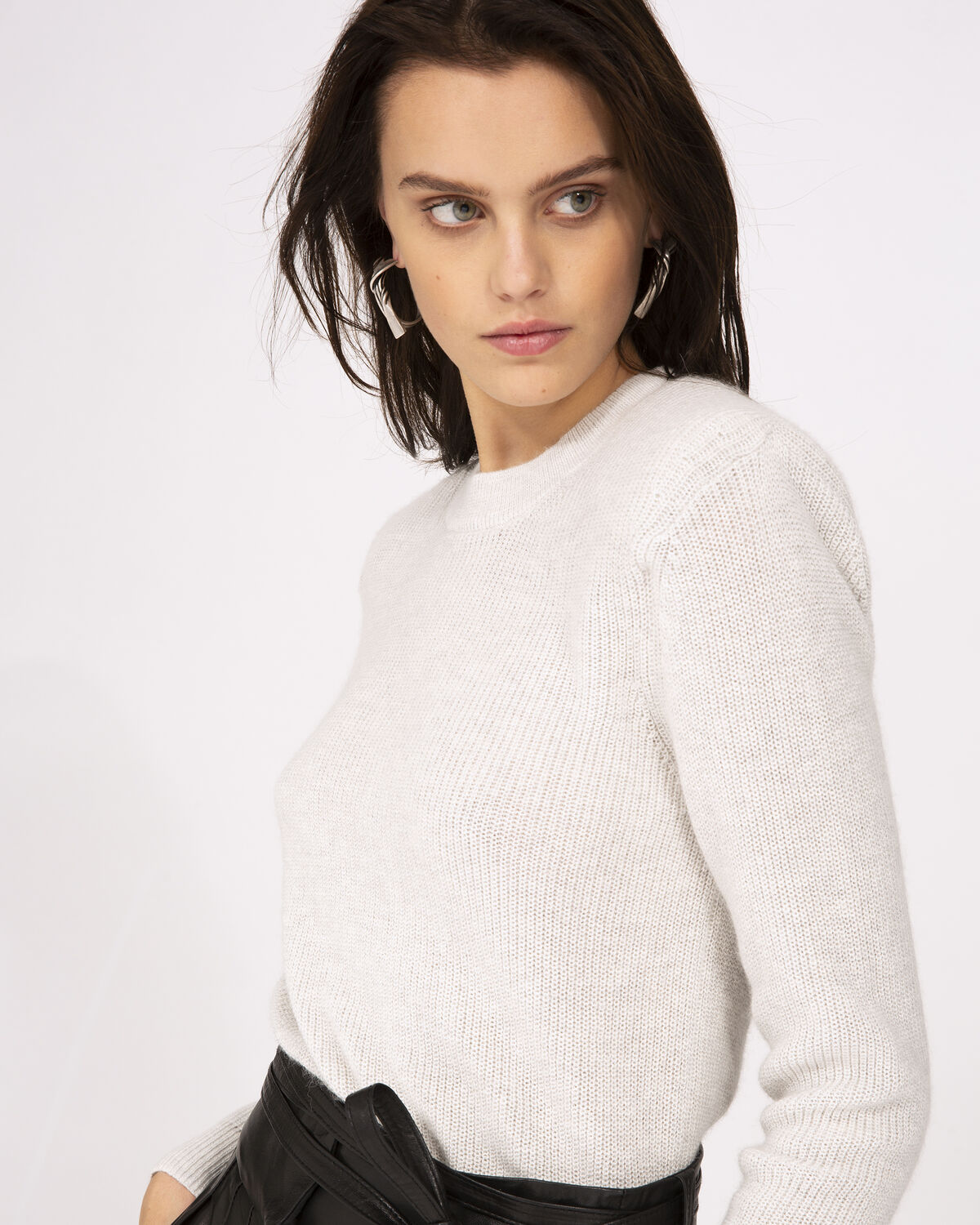IRO - ROOTS SWEATER OFF WHITE