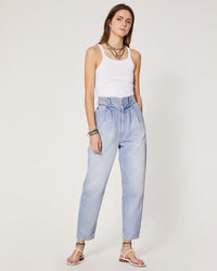IRO - JOPPO TROUSERS AUTHENTIC BLUE DENIM