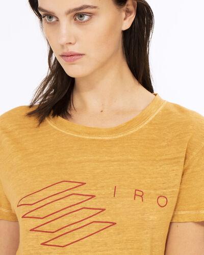 IRO - LUCIE T-SHIRT SAFRAN