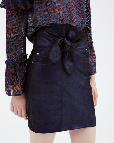 IRO - ALTMORE SKIRT DARK NAVY