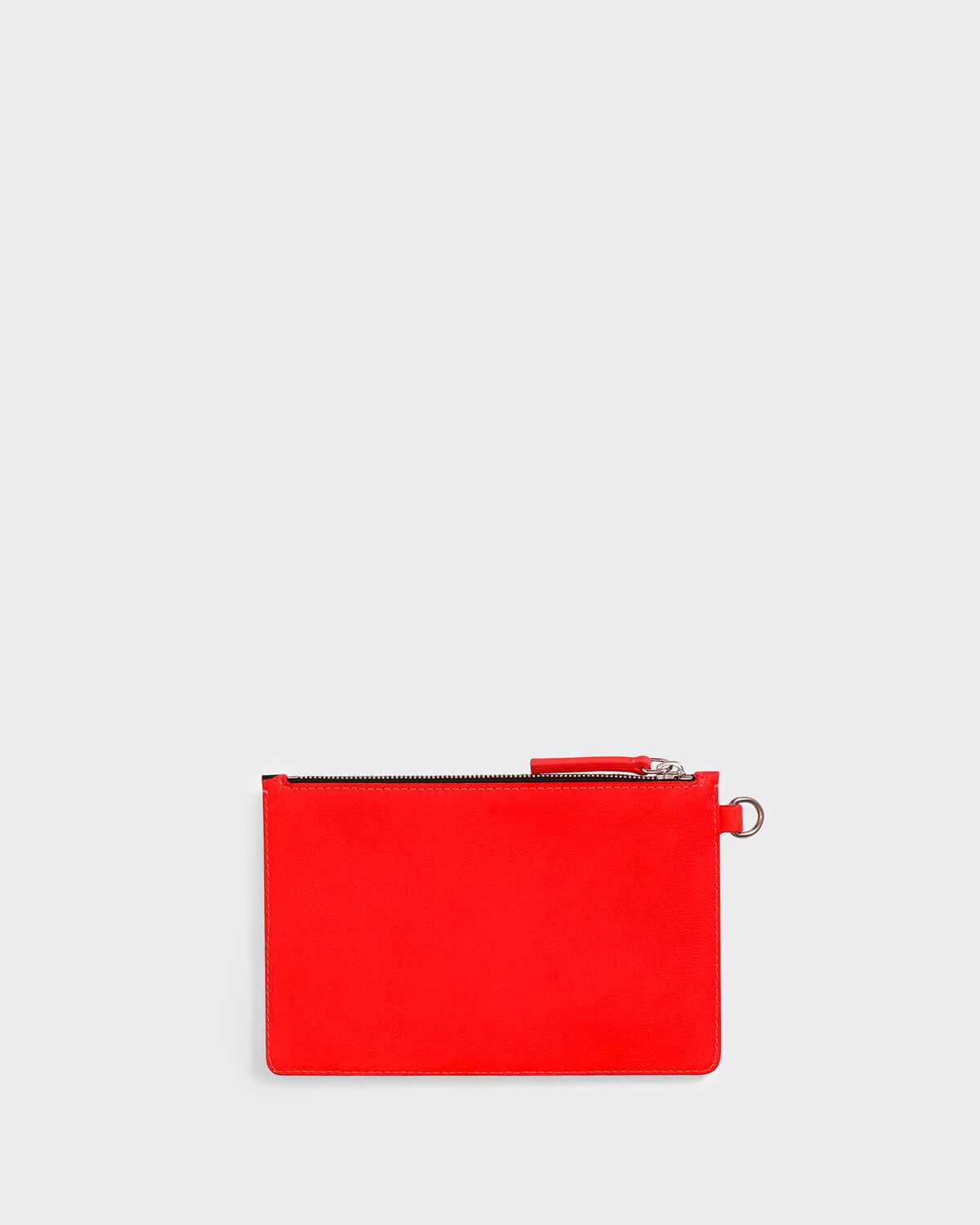 IRO - MONEYGM CLUTCH BAG CORAL FLUO/BLACK
