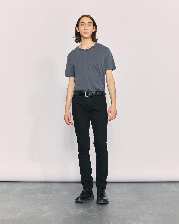 IRO - HOKO CREW NECK T SHIRT STONE GREY