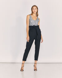 IRO - ANPIN TROUSERS BLACK