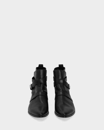 IRO - BOTTINES BONES BLACK
