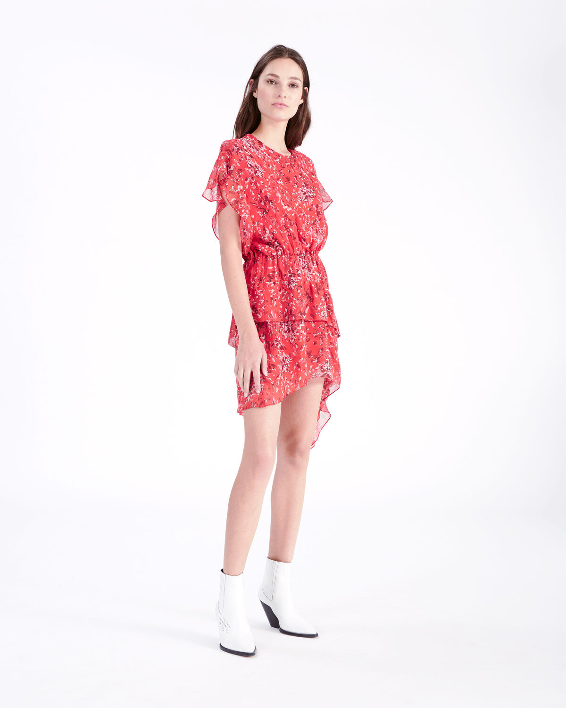 IRO - BLAME DRESS RED