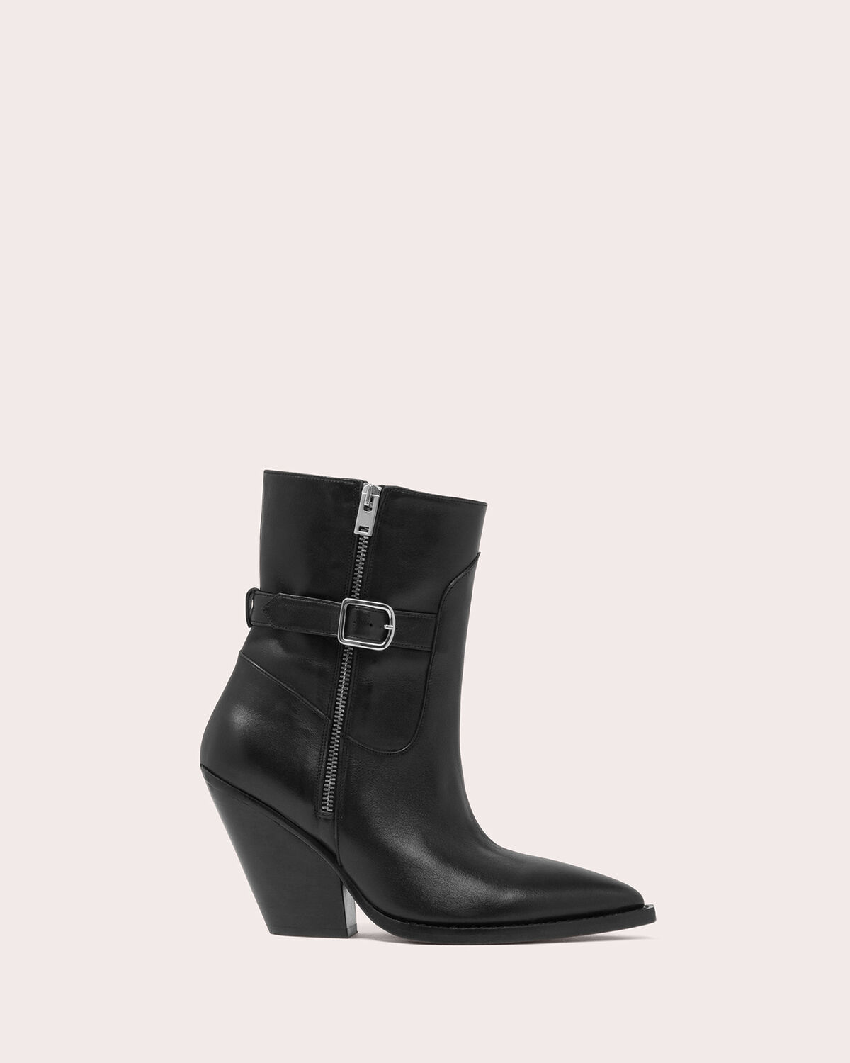 IRO - BOZON WESTERN ANKLE BOOTS BLACK