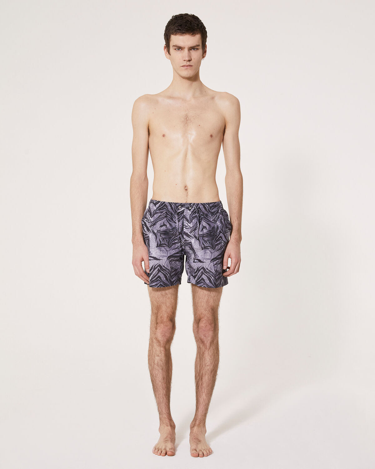 IRO - BALBOY SWIMSUIT GREY/BLACK