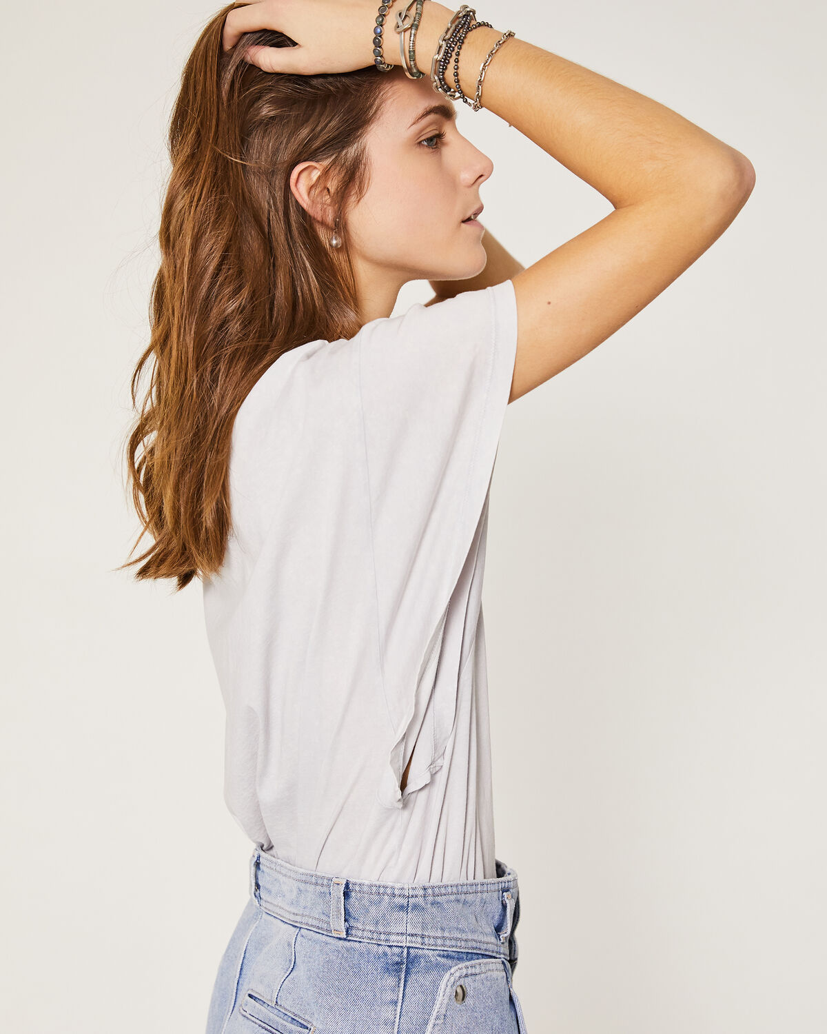 IRO - CLAUX T-SHIRT DIRTY WHITE
