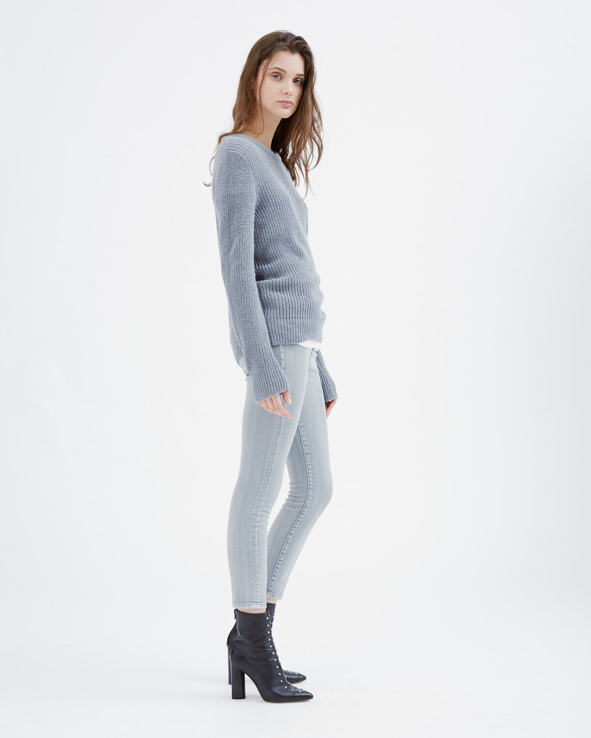IRO - PULL SAPPO LIGHT GREY