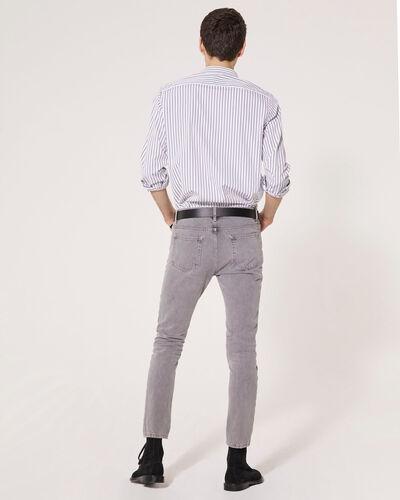 IRO - CHESTER SHIRT WHITE/BLACK