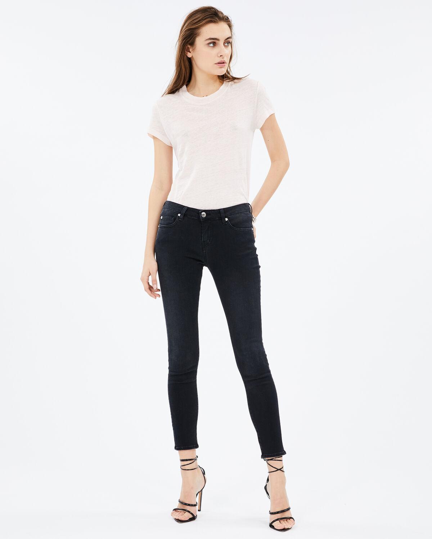 Jarodcla Jeans Used Black by IRO Paris