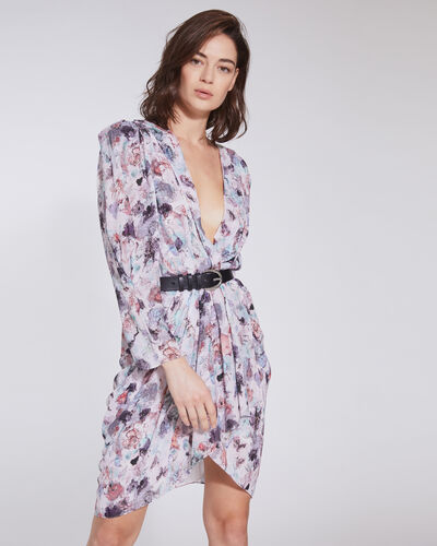 Iro FORRIE FLORAL PRINTED DRESS