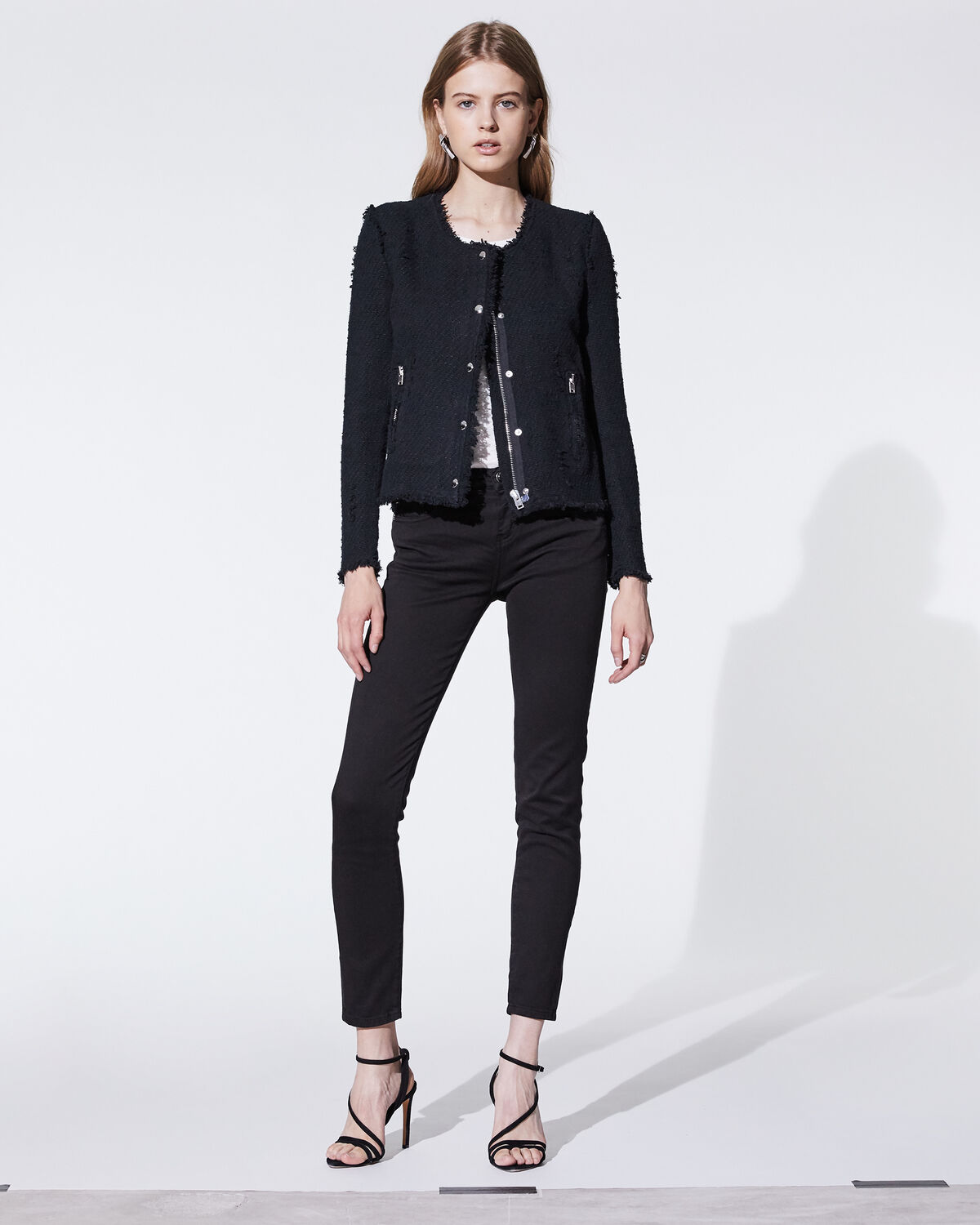 Agnette Jacket Black by IRO Paris