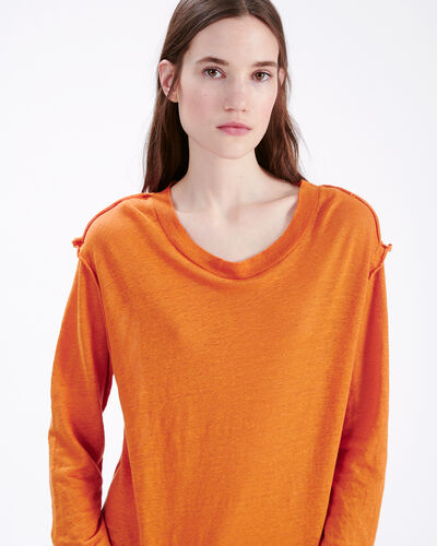 IRO - PEACEFUL T-SHIRT ORANGE