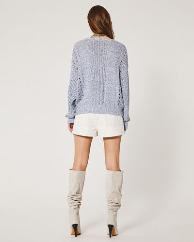 IRO - KAMEN SWEATER MIXED BLUE