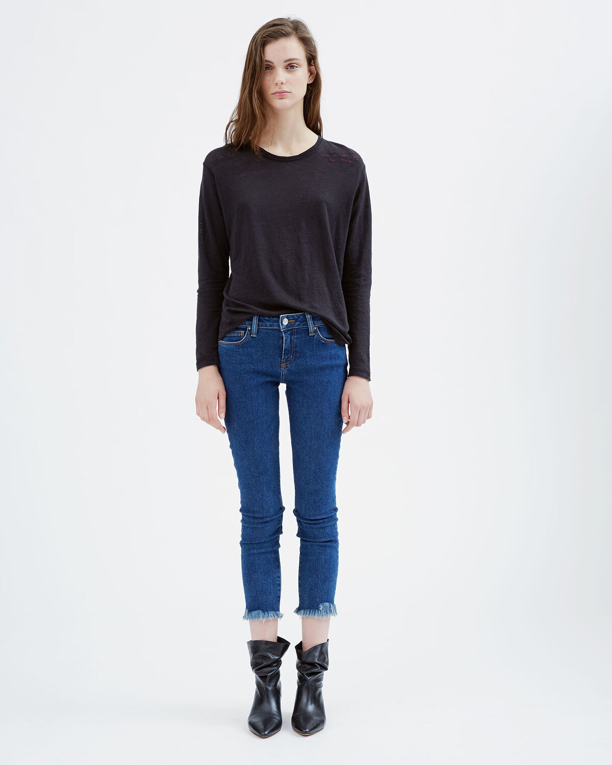 IRO - JAROD.US JEANS DENIM BLUE