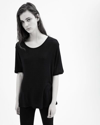 IRO - T-SHIRT DWAY BLACK
