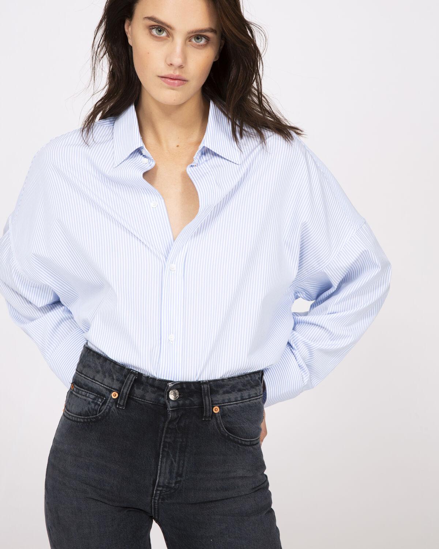 Sedate Shirt White And Blue by IRO Paris