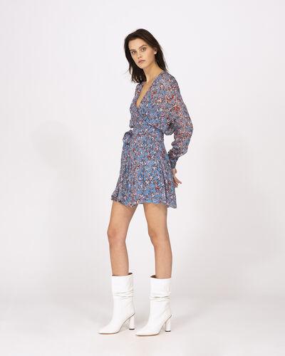 IRO - BUSTLE DRESS BLUE