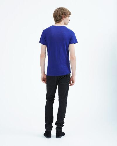 IRO - JAOUI T-SHIRT BLUE OVERSEAS