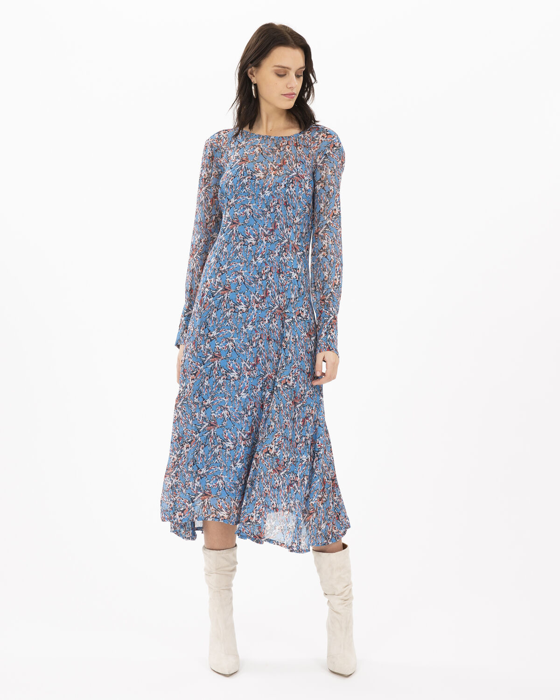 IRO - SUNLIGHT DRESS BLUE