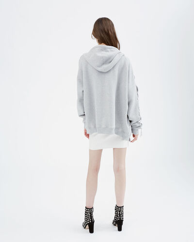 IRO - SWEAT NAZKO LIGHT GREY