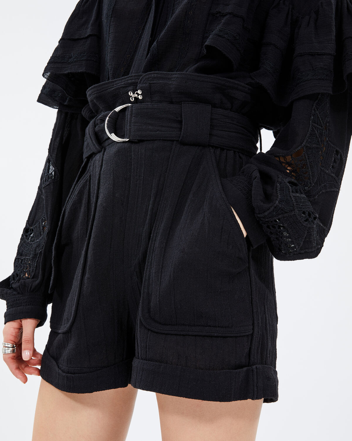 IRO - LUX SHORTS BLACK