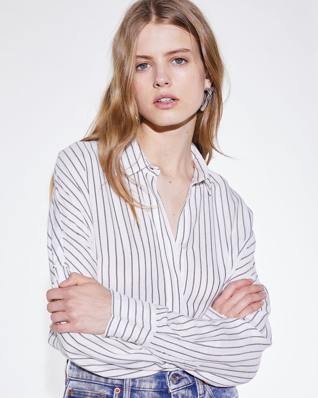 Markina Shirt White And Black by IRO Paris