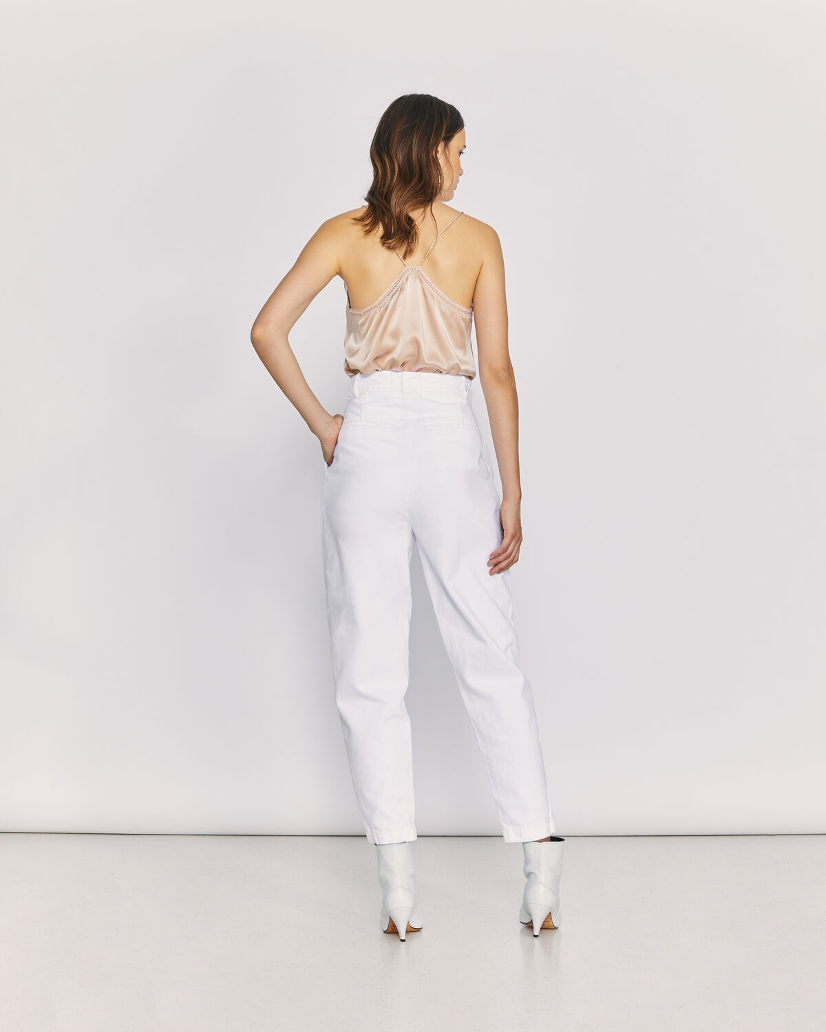 IRO - MONMAR TROUSERS WHITE