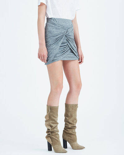 IRO - QUERTZ SKIRT STONE GREY