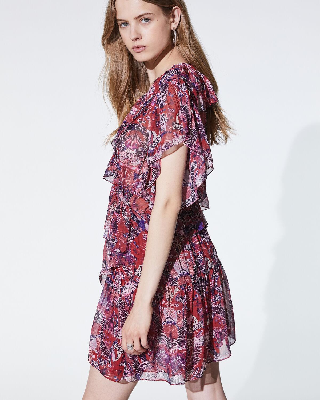 IRO - TALARA DRESS CRANBERRY
