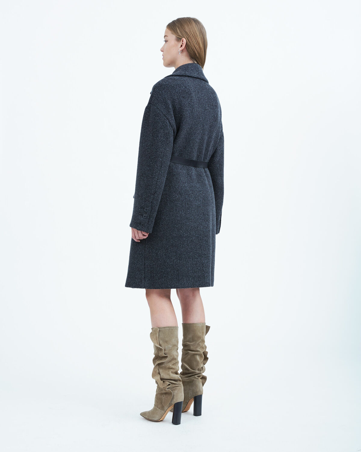 IRO - ZANDOR COAT ANTHRACITE