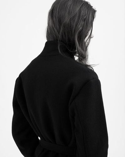 IRO - MANTEAU KILDER BLACK