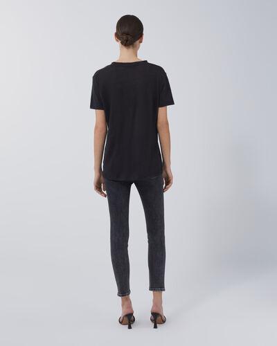 IRO - LUCIANA T-SHIRT BLACK