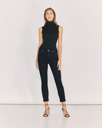 IRO - JEAN TAILLE HAUTE COUPE SLIM GALLOWAY BLACK
