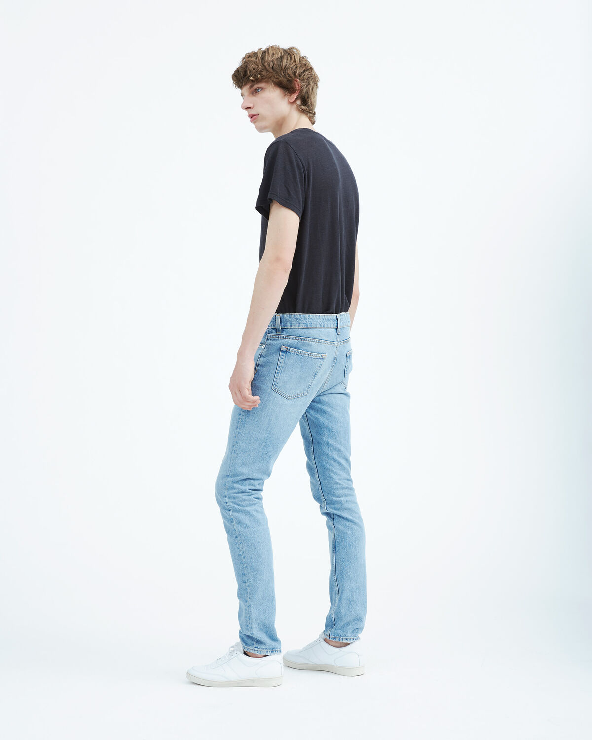IRO - JEAN ISAK LIGHT BLUE DENIM