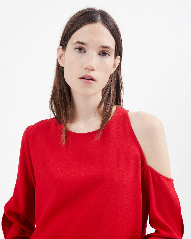 IRO - AWATI DRESS POPPY RED