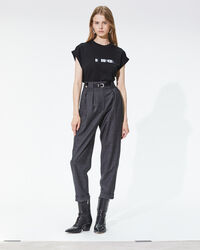 IRO - T-SHIRT WAX BLACK