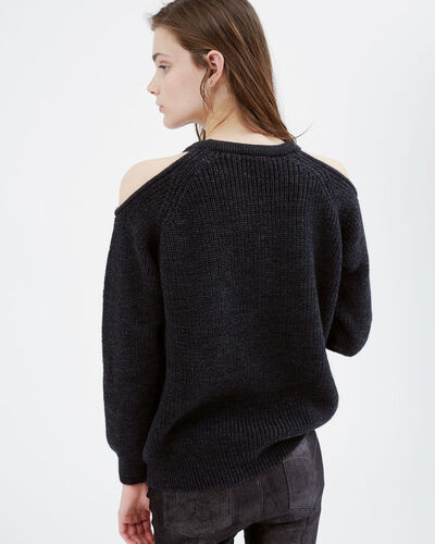 IRO - LINEISY SWEATER ANTHRACITE