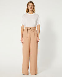 IRO - PANTALON HASTRO OLD PINK