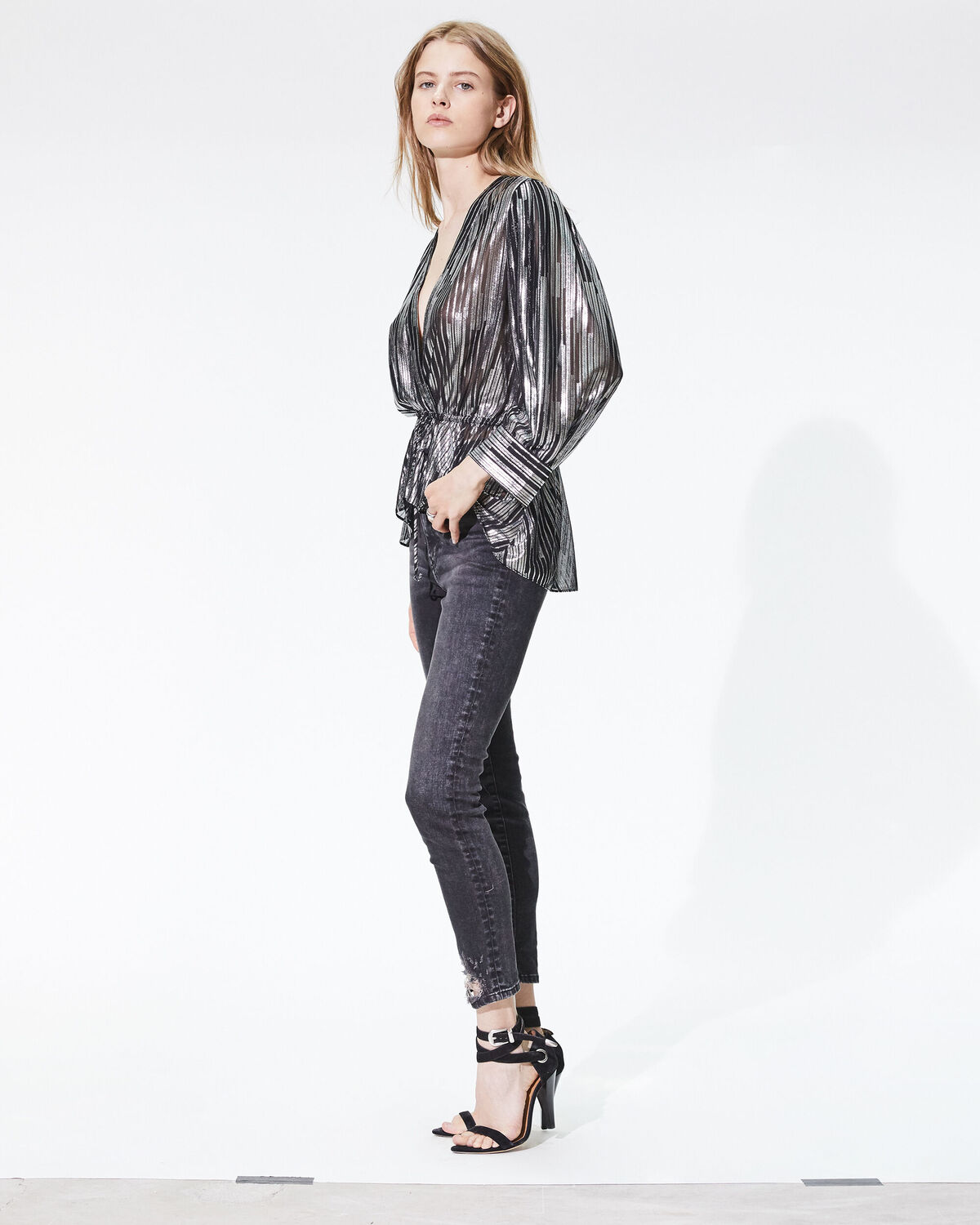 Vlade Jeans Black Washed Grey by IRO Paris