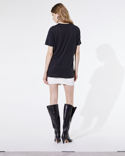 IRO - T-SHIRT LOUI USED BLACK