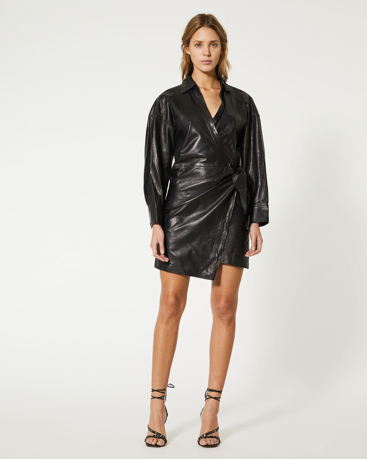 IRO - ROBE PERRINE BLACK