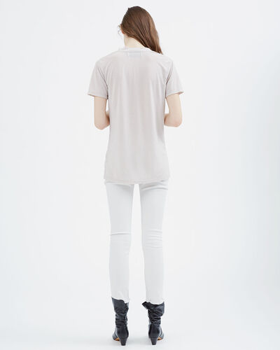 IRO - EFORY T-SHIRT LIGHT GREY