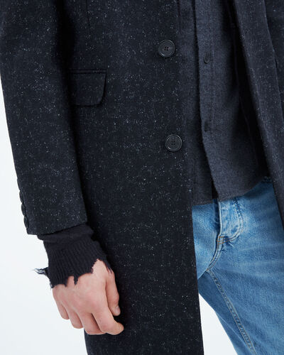 IRO - STERO COAT BLACK/DARK GREY